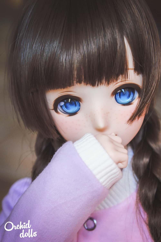 Custom Dollfie Dream M.O.M.O. Melocotón retrato pecas