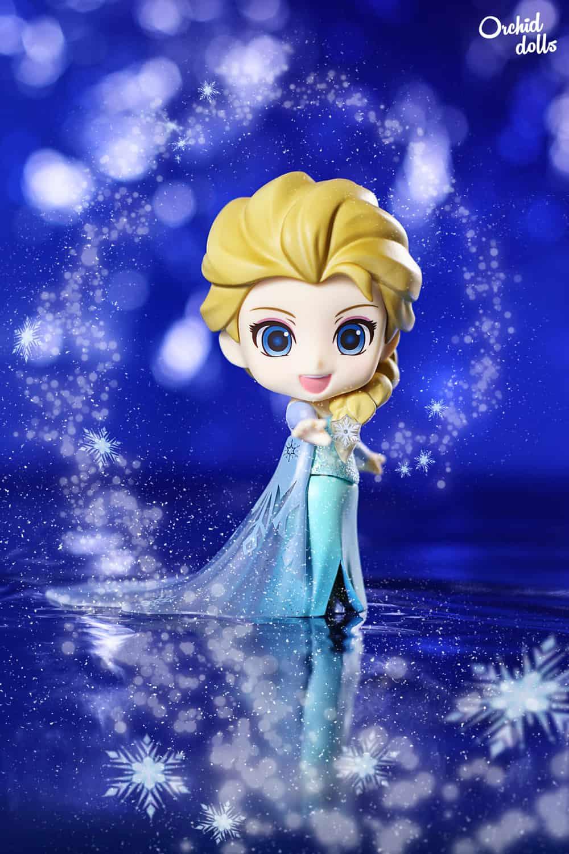 Nendoroid Elsa Frozen fotografía de juguetes