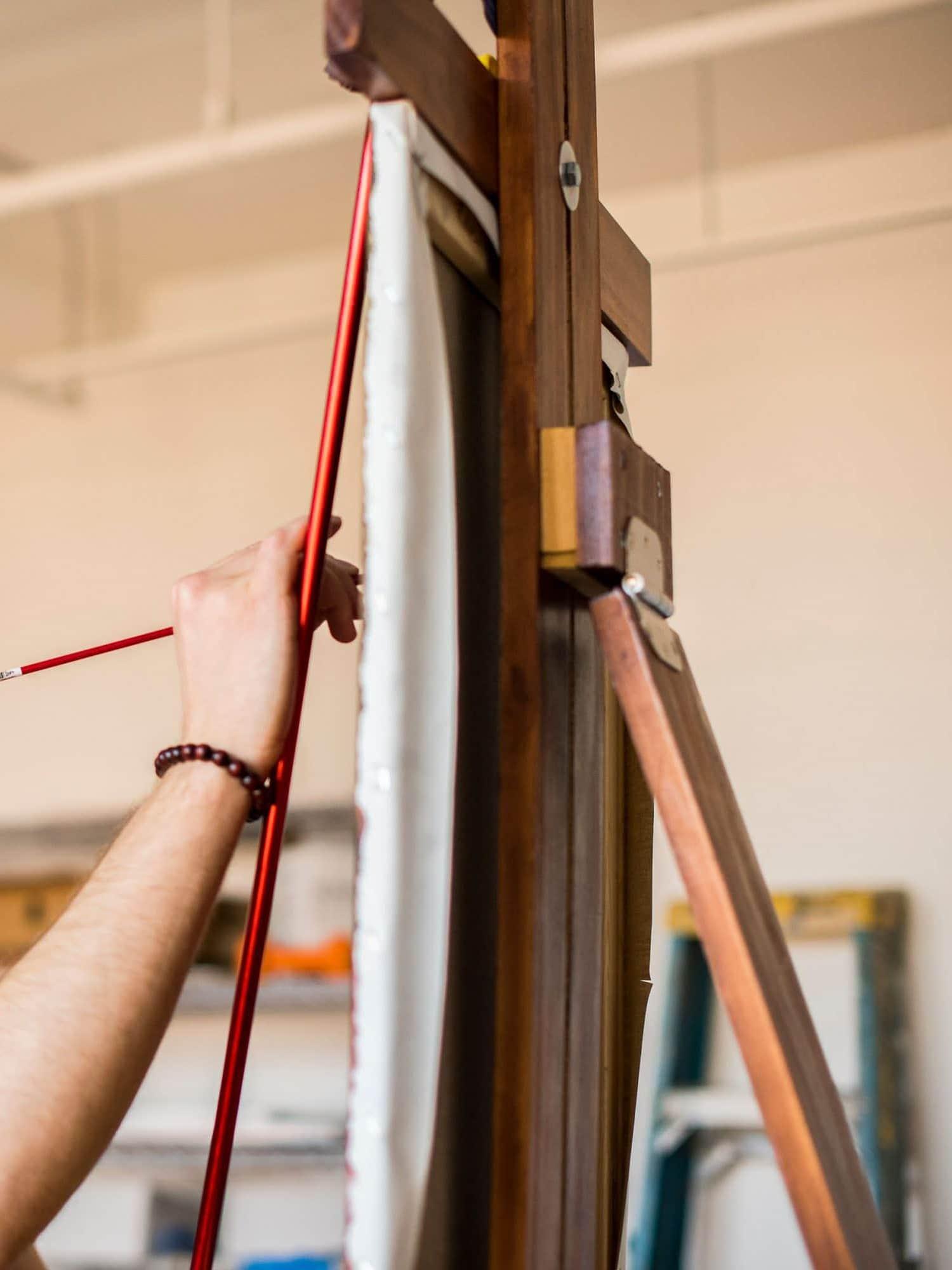 Minneapolis branding photographer for painters