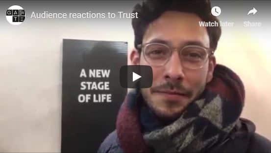 Trust-audience-reaction