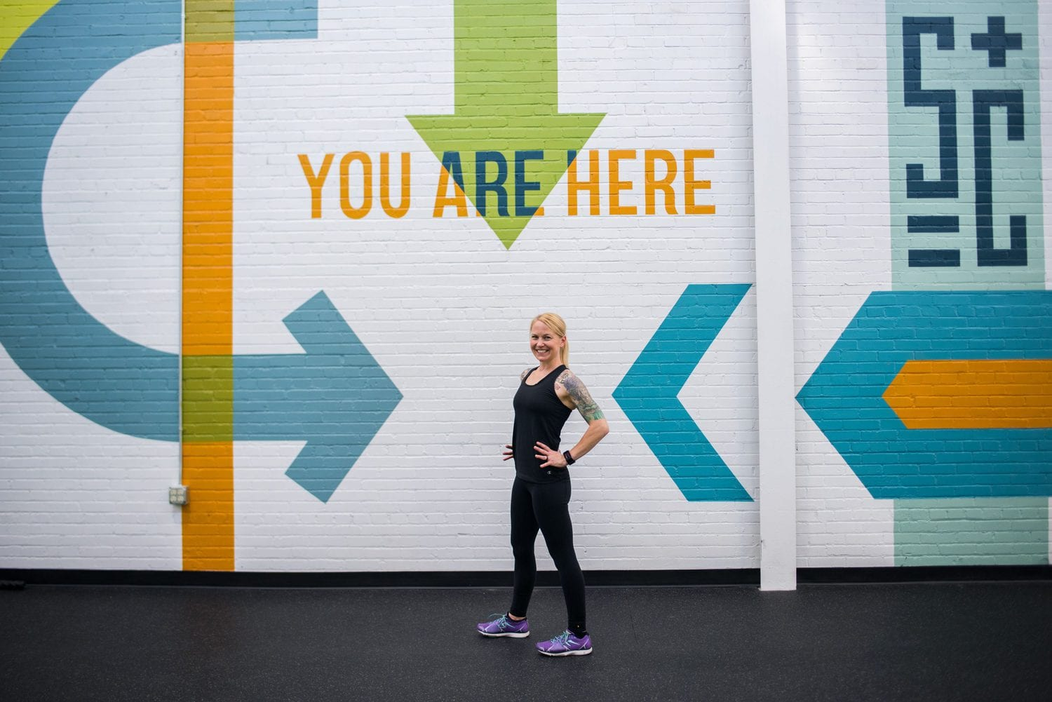 Minneapolis brand photography for physical trainers
