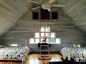 Bedroom in Unique Swedish-Style Luxury Barn in Cape Cod, Massachusetts