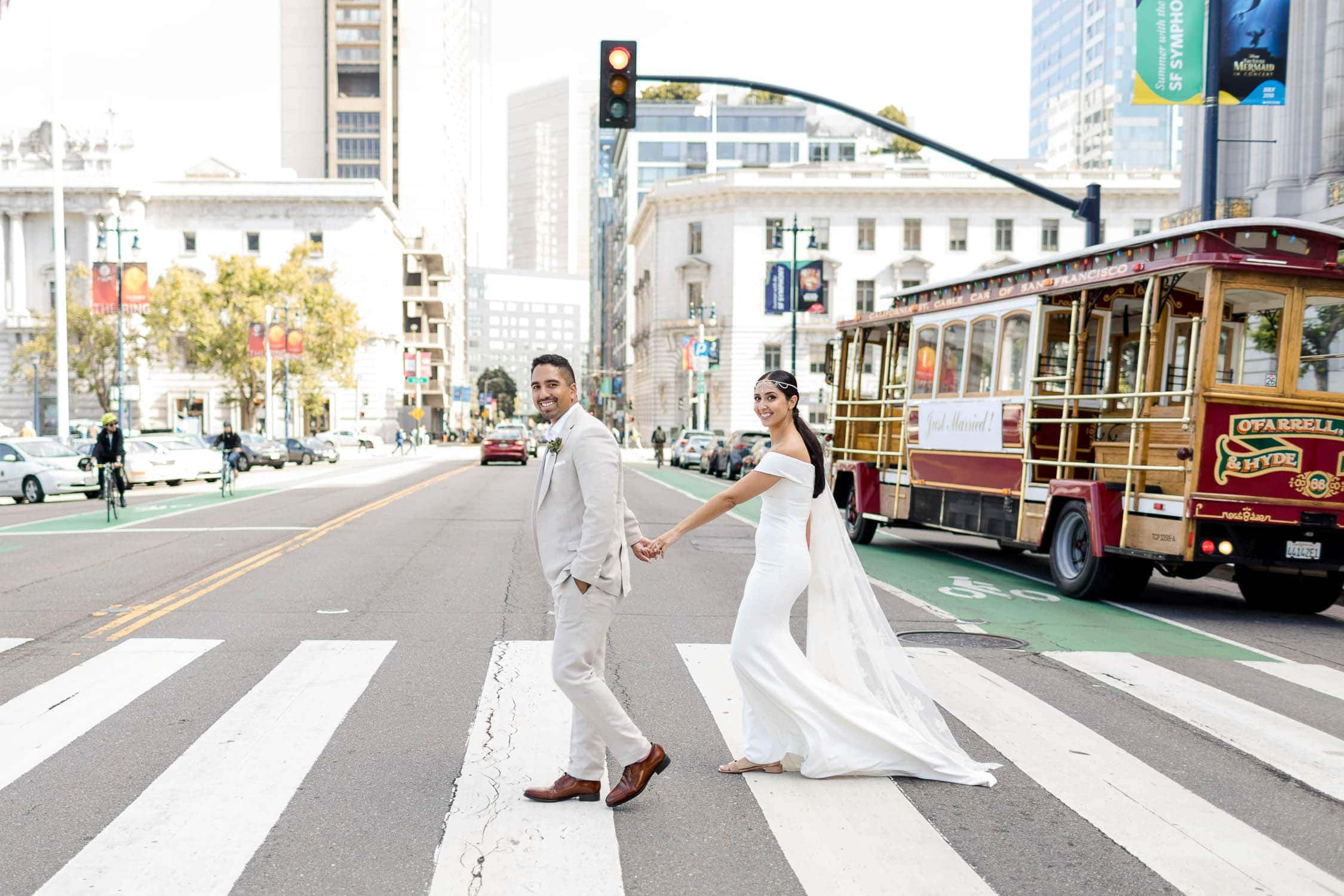 san francisco wedding photos bhldn blake gown