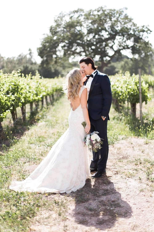 santa ynez winery wedding photos
