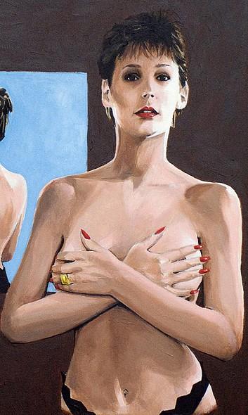 Tableau de Jaimie Lee Curtis, tiré du film Un Fauteuil Pour Deux