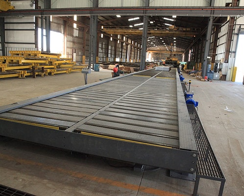 Custom Cut-to-Length Conveyor System