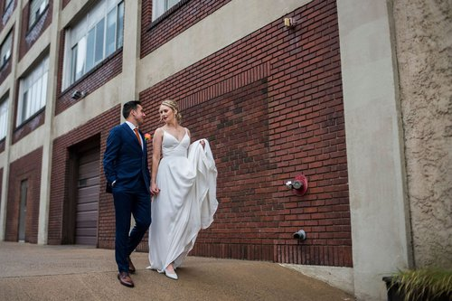North loop Minneapolis wedding photographer