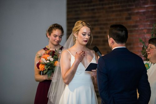 Indoor minneapolis wedding at Neu Neu