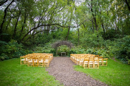 Camrose Hill Wedding Ceremony site