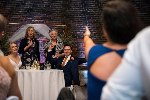 Mom's reception toast