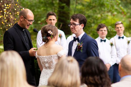 ceremony vows at camrose hill