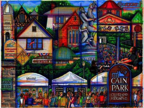 Hector Vega Cain Park artwork