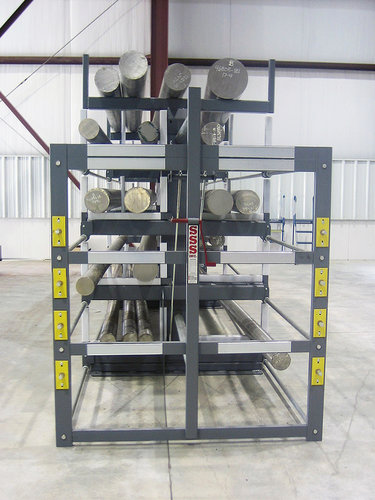 ELECTRALLOY SpaceSaver Rack for bar and billet storage
