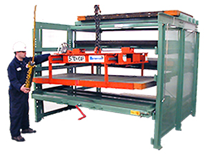 Crank-Out Sheet Rack