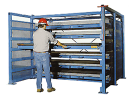 Standard Roll-Out Sheet Rack
