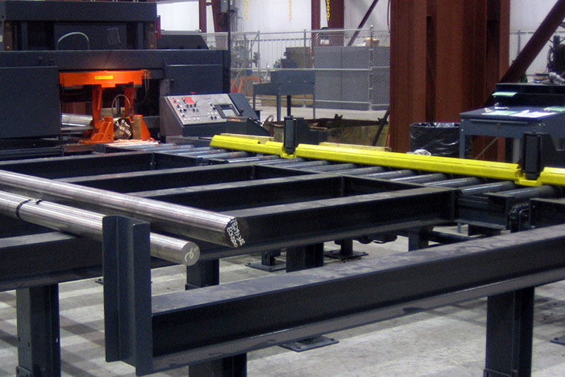 Push Bar Ejector System for Outfeed Conveyor