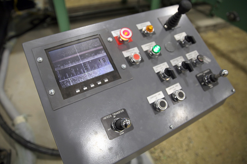 Measuring System Control Panel for Conveyor
