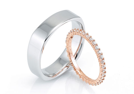 Wedding ring customization from Simply Majestic Jewelers in Mystic, Connecticut