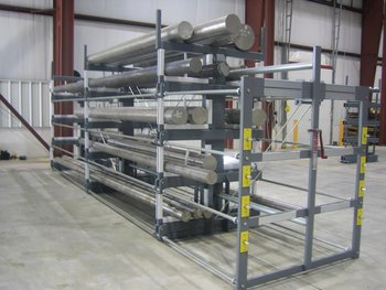 SpaceSaver for Round Finished Steel Bars
