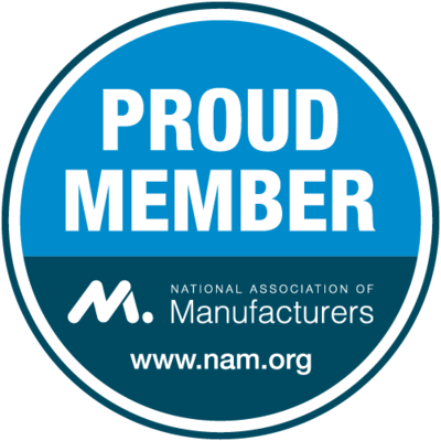 National Association of Manufacturers member badge
