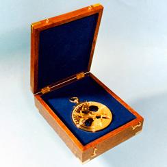 Caixas de madeira para astrolábios