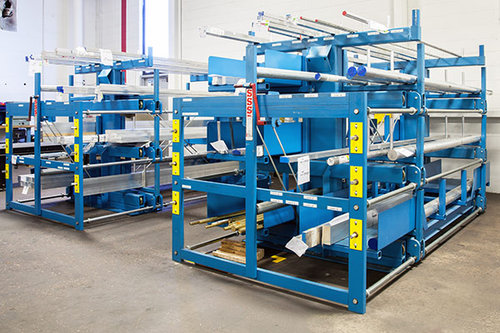 Industrial SpaceSaver Racking Systems
