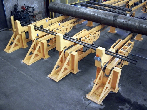 Steel Tube Loading and Transfer System