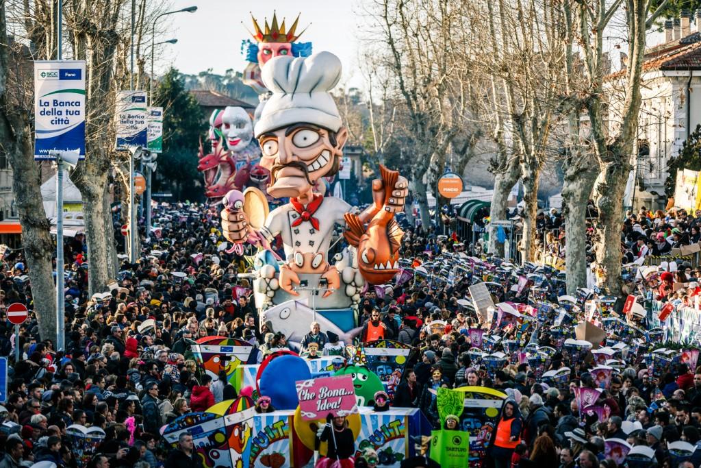 Carnival floats parade 2 - Fano - Marche - Italy