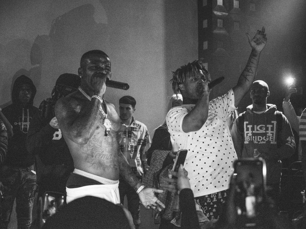 DaBaby And Juicewrld at NYC Hiphop venue SOB's