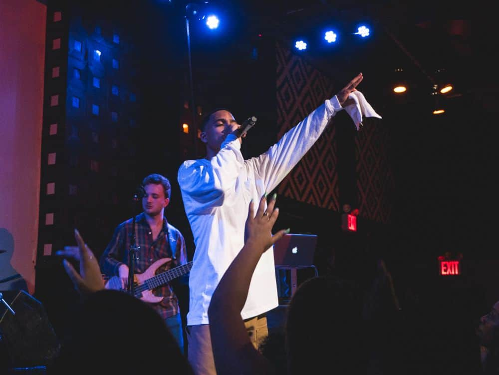 Arin Ray At NYC music venue SOB's