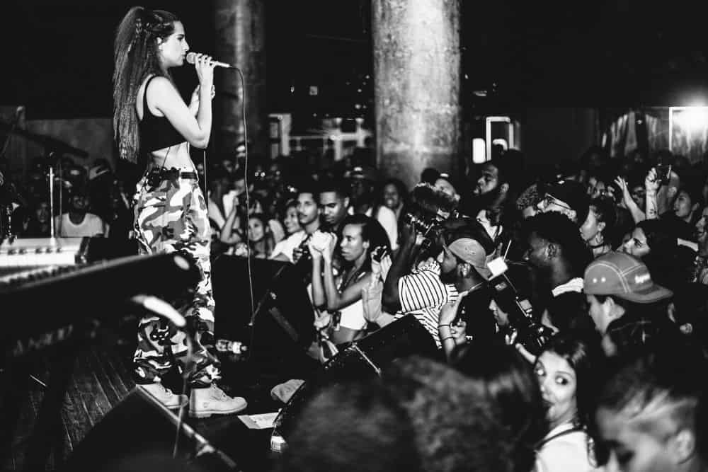 Snoh Alegra at NYC Hiphop venue at SOB's