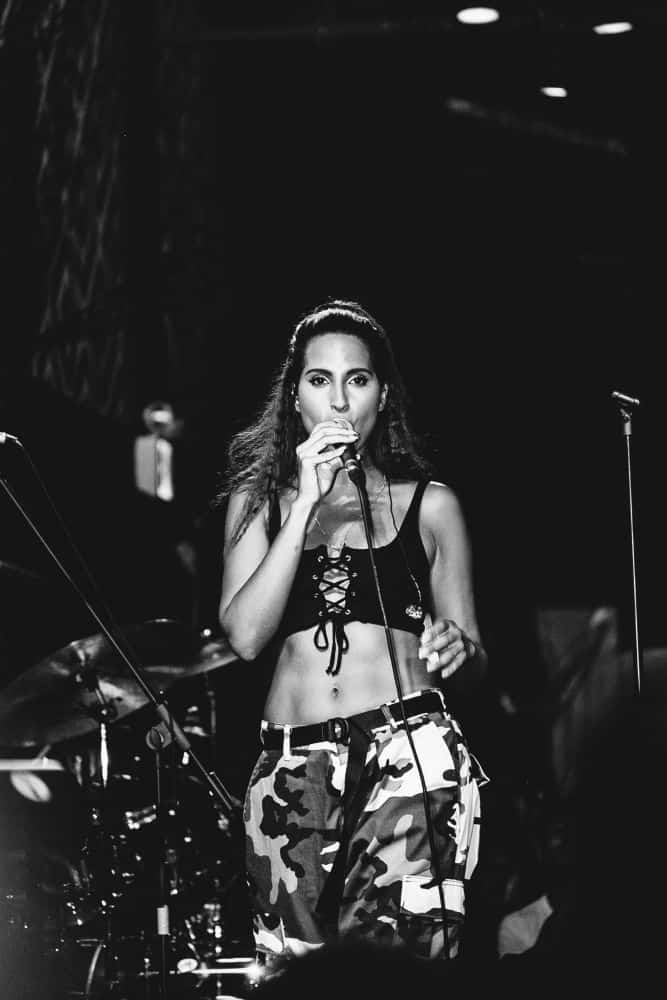 Snoh Alegra At NYC Hiphop venue SOB's