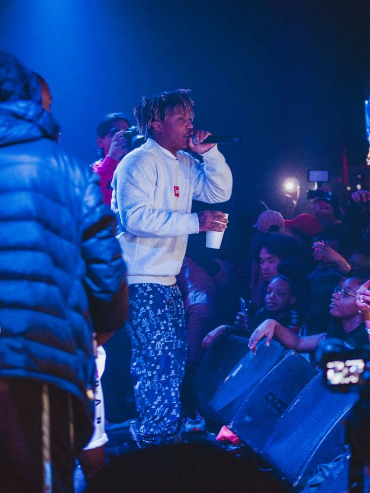 JuiceWrld at NYC Hiphop Venue SOB's
