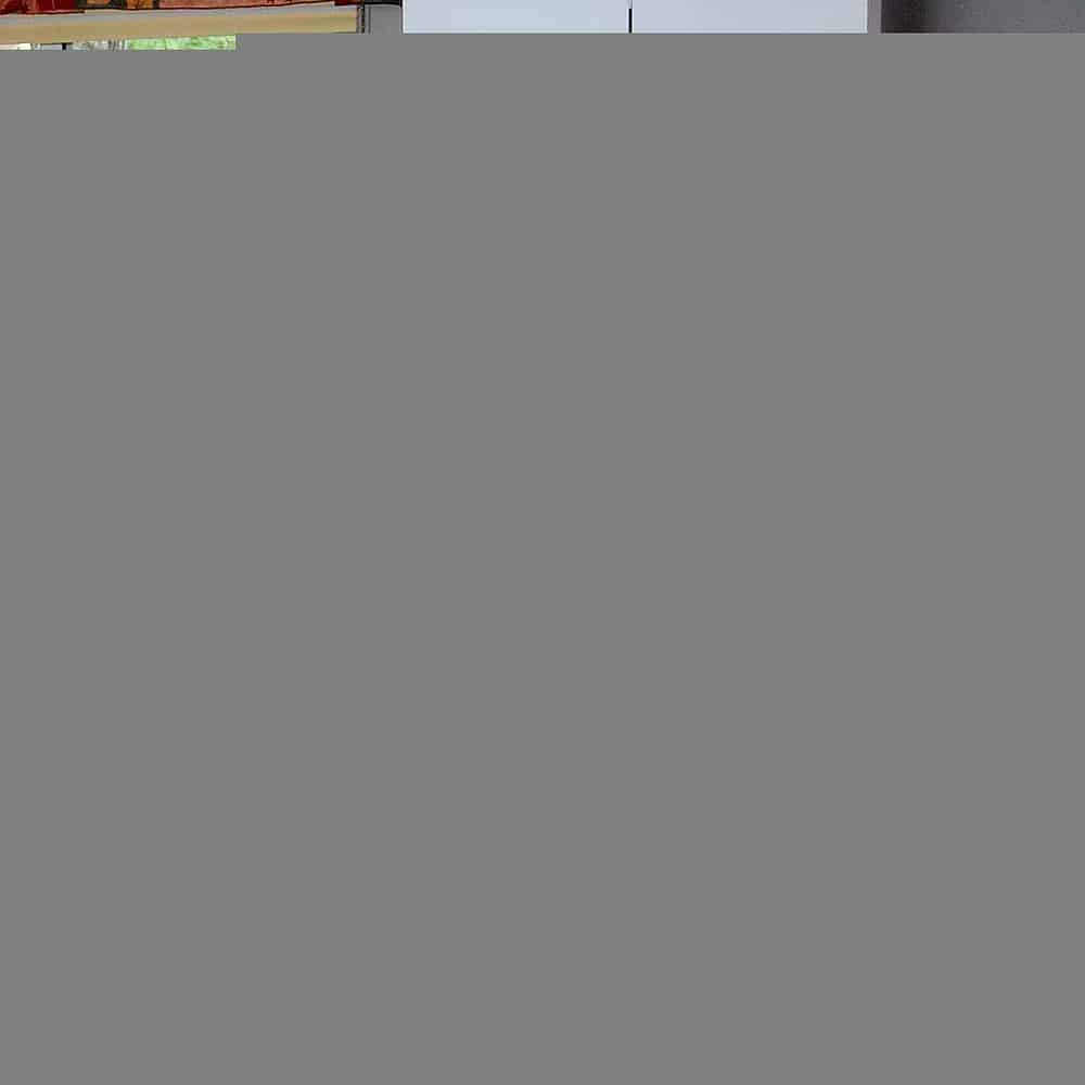 Kitchen in motel efficiency unit