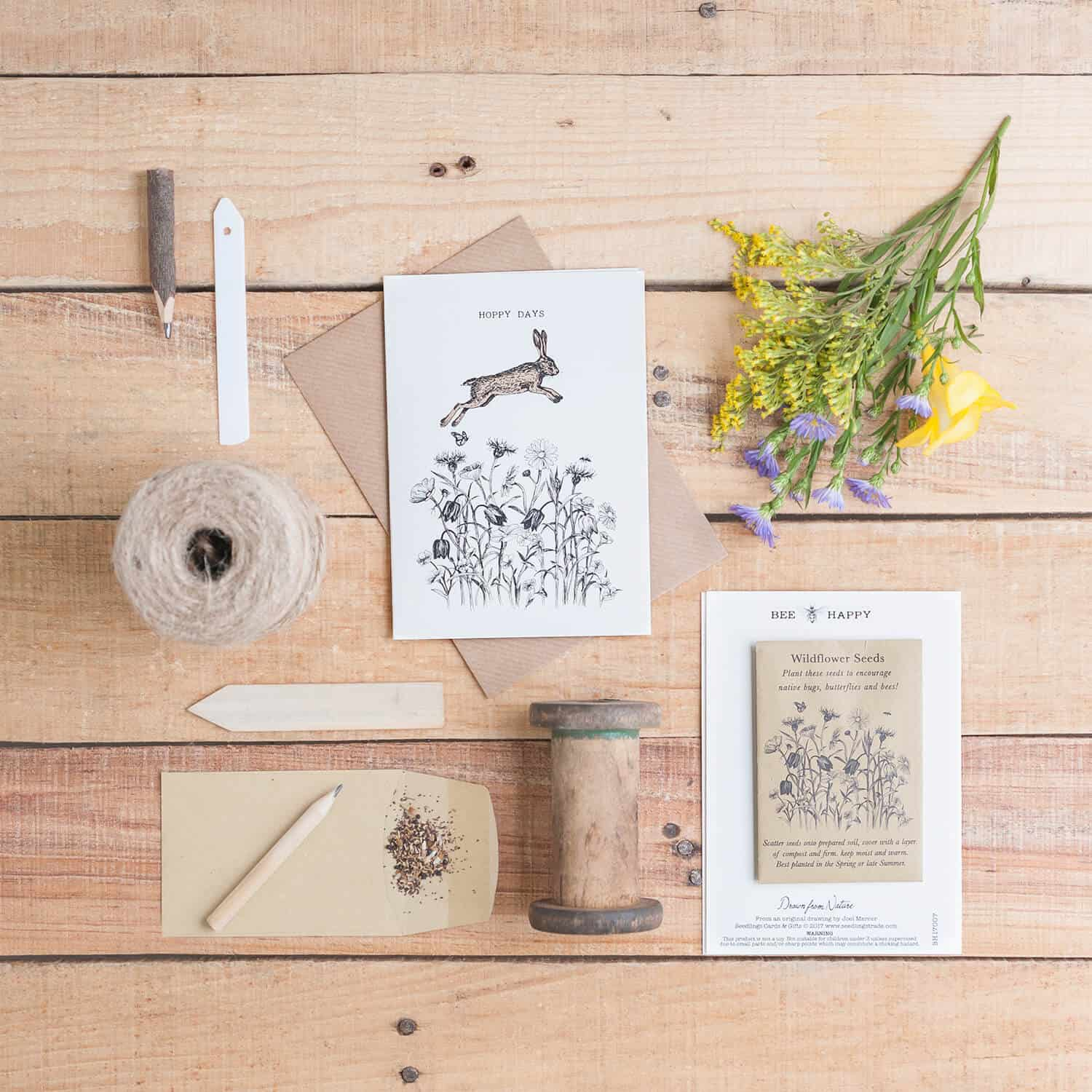 Flatlay product photography for greetings card and gift designer Sarah-jayne Mercer