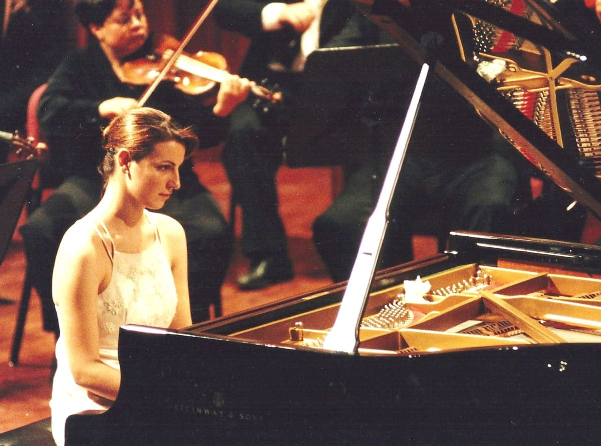 Cristina Casale pianista española 8 Debut en el Palau de la Música