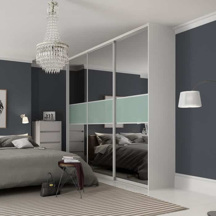 Domalti sliding doors in contemporary bedroom