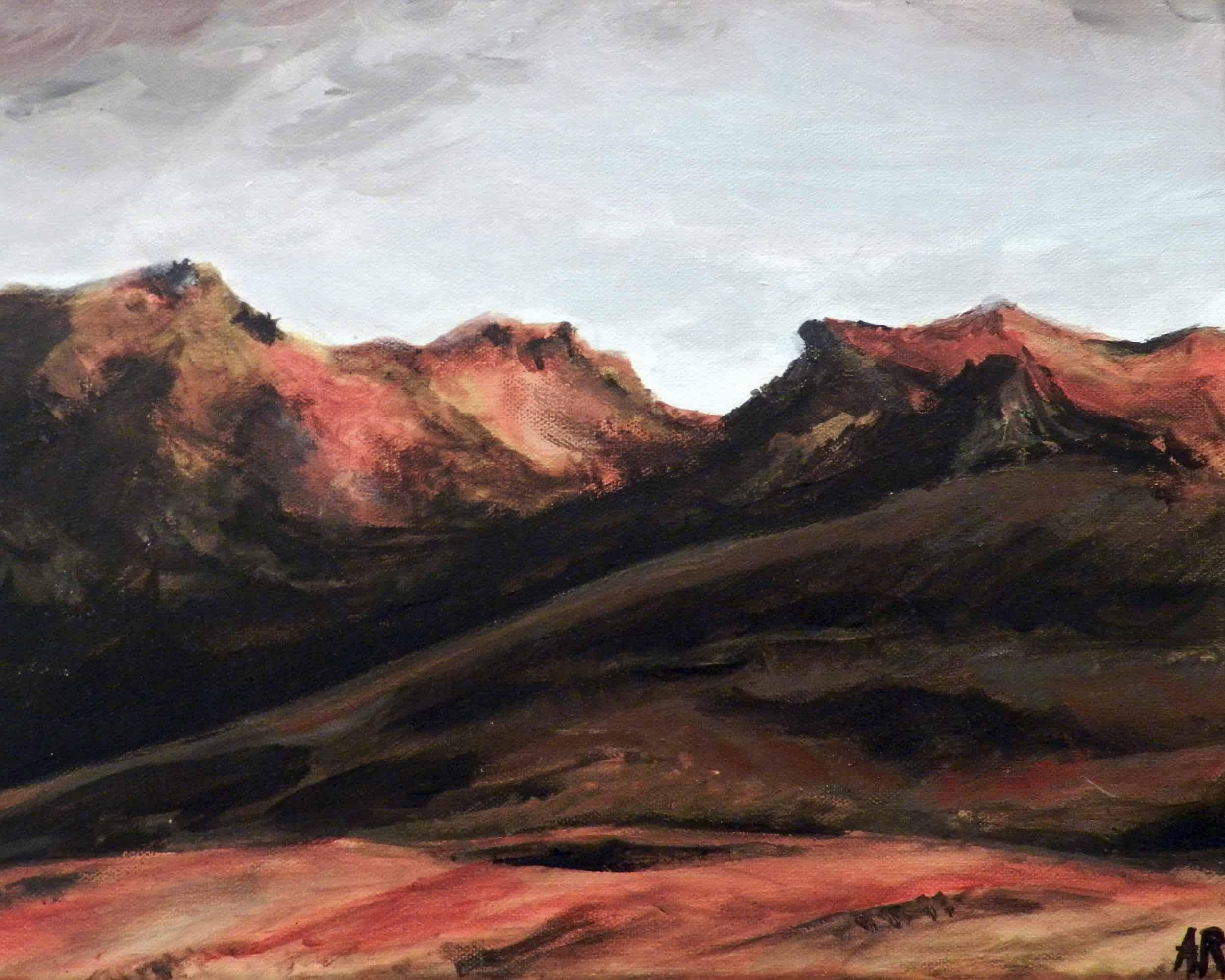 anna ramseier, volcanic landscape