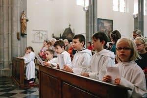 Procession en l'honneur de l'Enfant Jésus de Prague 2019