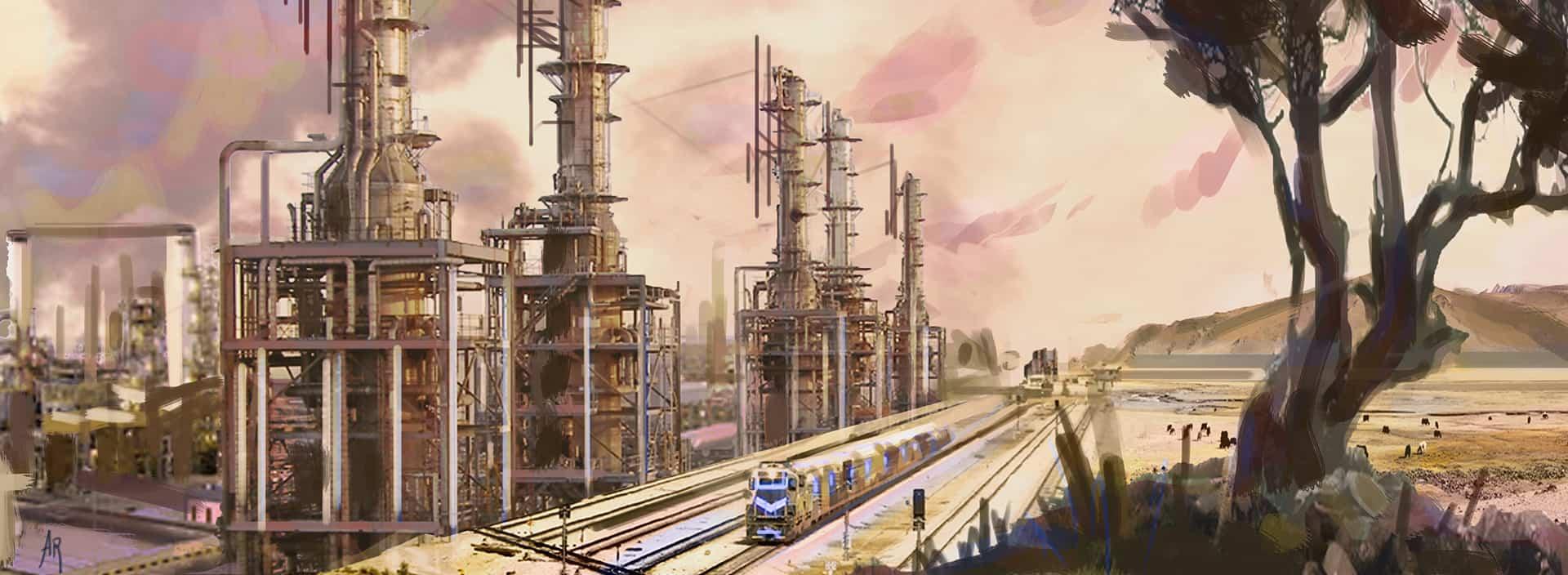 anna ramseier, oil refinery