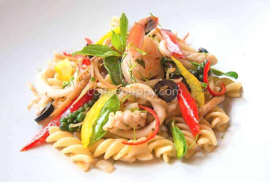 Seafood Pasta Padcha