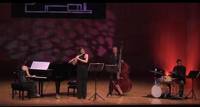 Cristina Casale pianista española 21 ensamble jazz