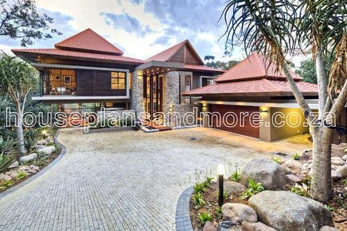 Bali house plan design