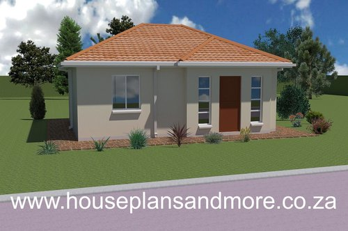 Single storey house style desiggn for client