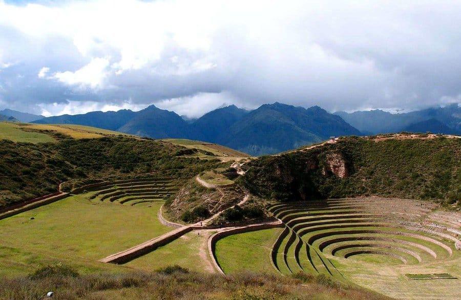 Терассы Морай, Перу
